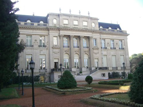 Rear elevation of the Bosch Palace