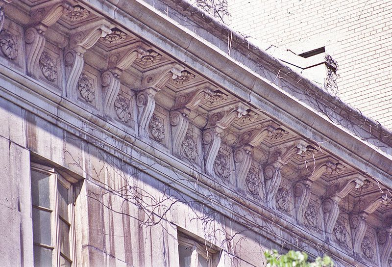 New York, Ziegler Mansion detail